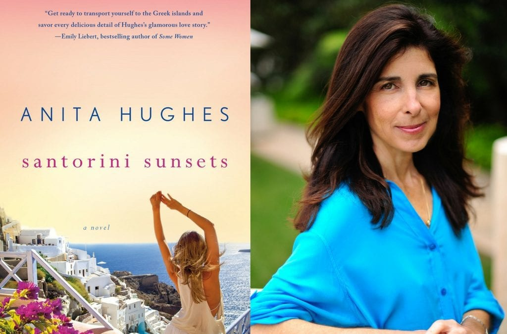 Celebrate the New Book From Anita Hughes: SANTORINI SUNSETS