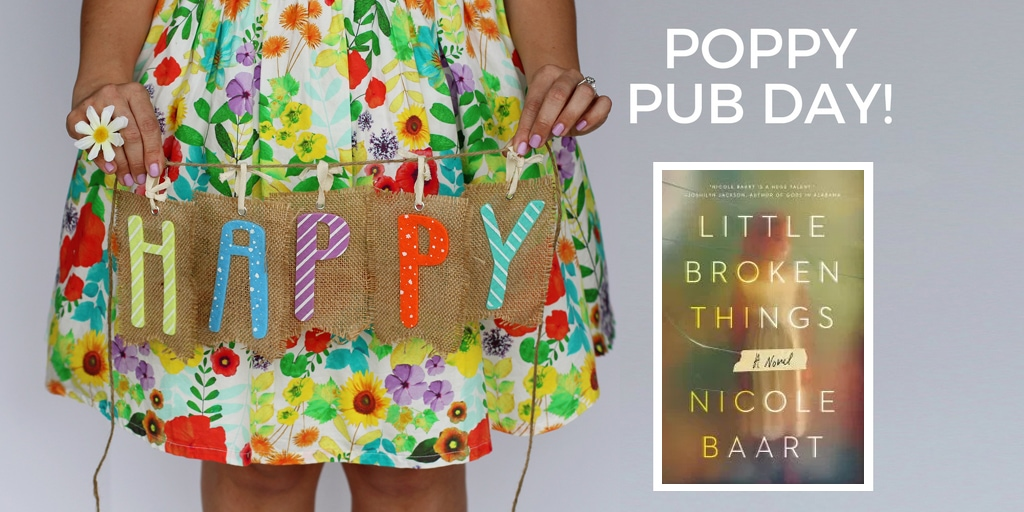 Happy Pub Day to Nicole Baart and Little Broken Things