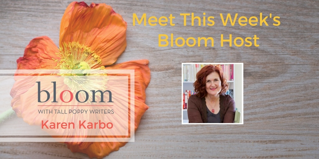 Are You In Bloom with Karen Karbo?