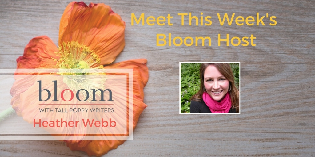 Are You In Bloom with Heather Webb?