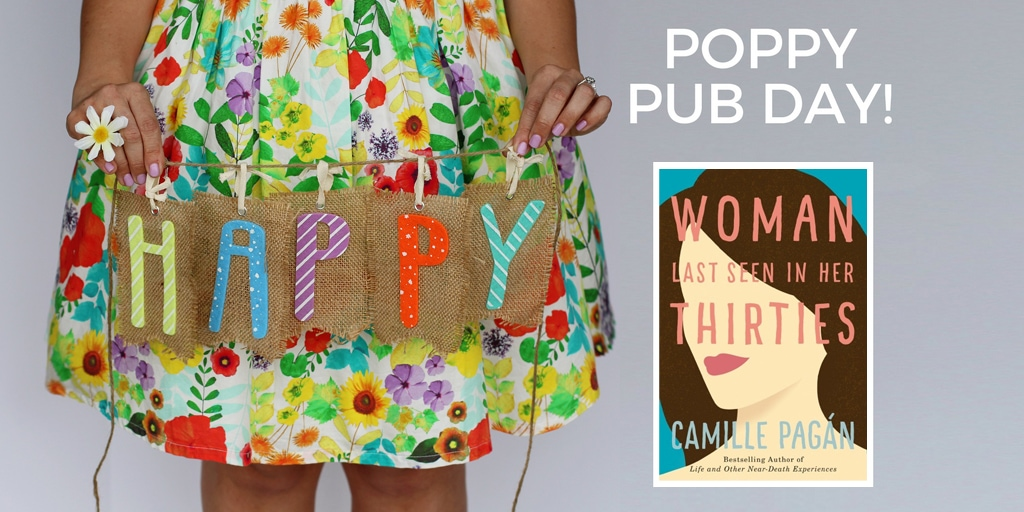 Happy Pub Day to Camille Pagan and Woman Last Seen in Her Thirties