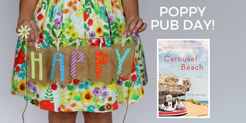 Happy Pub Day to CAROUSEL BEACH and Orly Konig