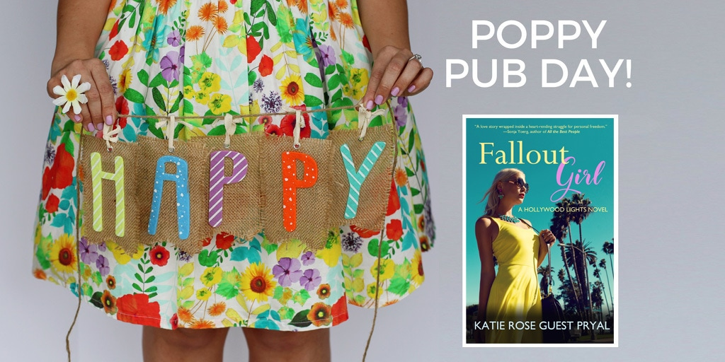 Happy Pub Day to FALLOUT GIRL and Katie Rose Guest Pryal