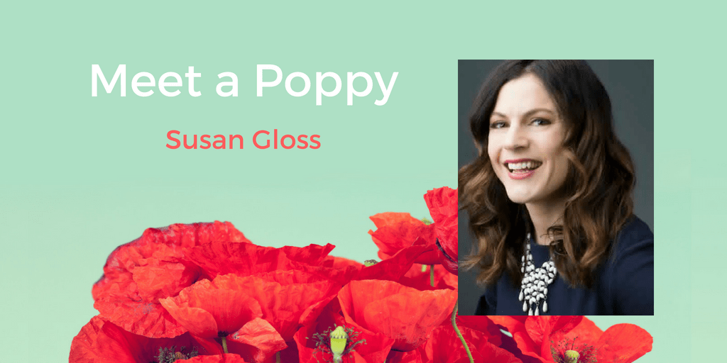 Meet a Poppy: Susan Gloss