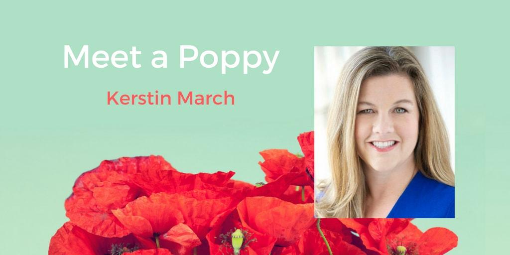 Meet a Poppy: Kerstin March