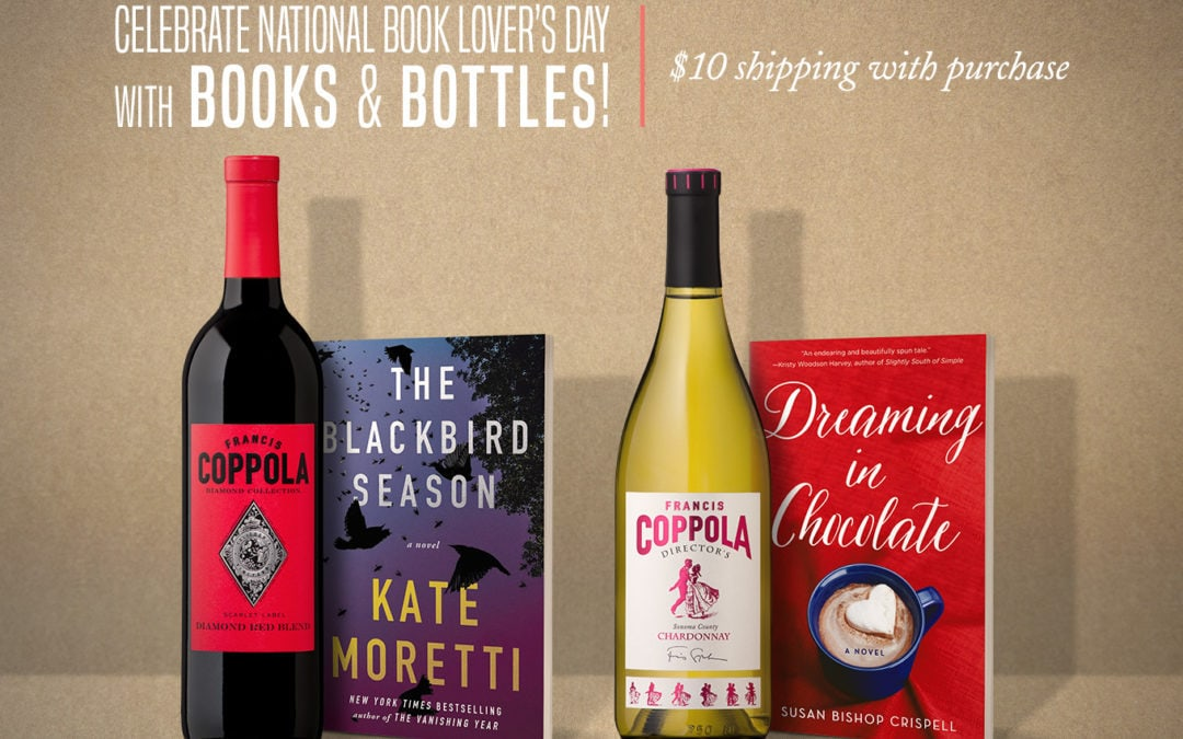 Celebrate #NationalBookLoversDay with Books And Bottles
