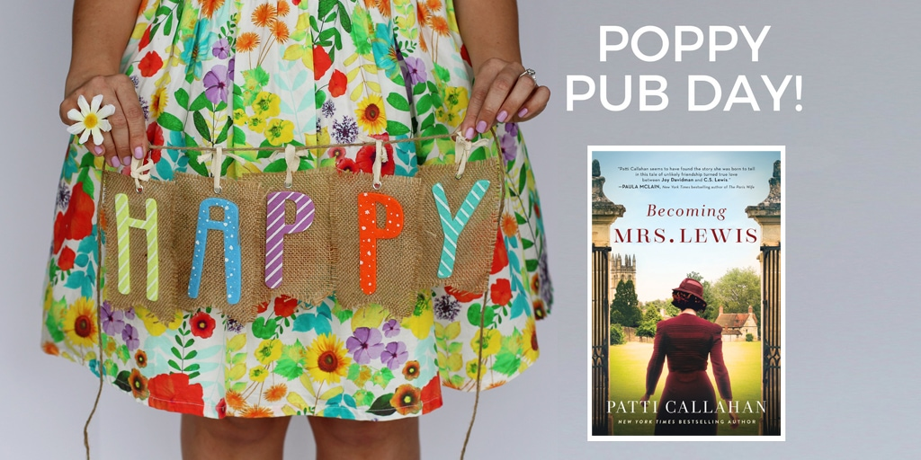 Happy Pub Day to BECOMING MRS. LEWIS and Patti Callahan